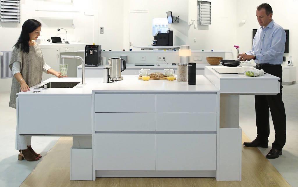 Tiesla Digitalstrom Smarthome Küche