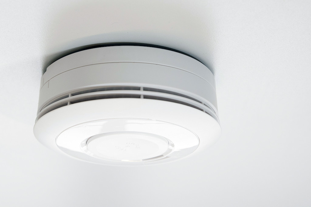 rauchmelder sind im koeln buero mit digitalstrom verbunden.